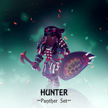 Set Hunter Panther