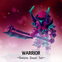 Set Warrior Demonslayer