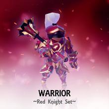 Set Warrior RedKnight