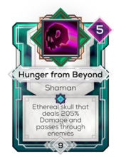 Hunger from Beyond
