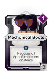 Mechanical Boots