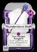 Thunderstorm Staff