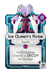 Ice Queen's Robe
