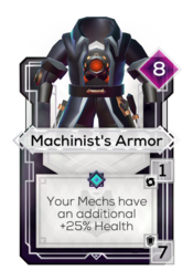 Machinist's Armor