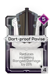 Dart-proof Pavise