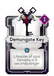 Demongate Key