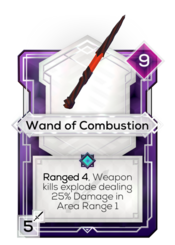 Wand of Combustion