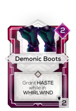 Demonic Boots