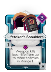 Lifetaker's Shoulders