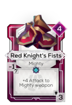 Red Knight's Fists