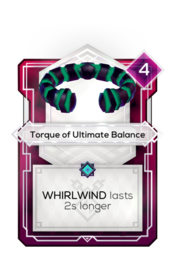 Torque of Ultimate Balance