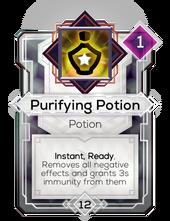 Purifying Potion