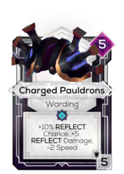 Charged Pauldrons