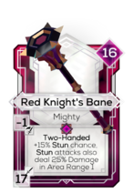 Red Knight's Bane