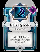 Blinding Dust