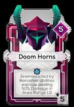Doom Horns