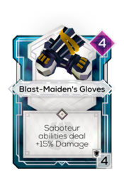 Blast-Maiden's Gloves
