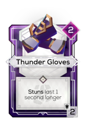 Thunder Gloves