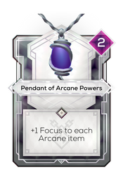 Pendant of Arcane Powers
