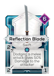 Reflection Blade