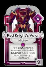 Red Knight's Valor