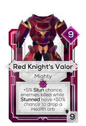 Red Knight's Valor