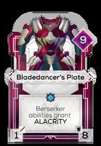 Bladedancer's Plate
