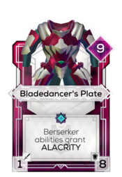 Bladedancer's Plate