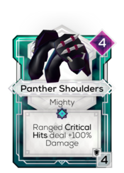 Panther Shoulders