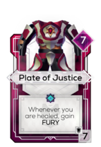 Plate of Justice