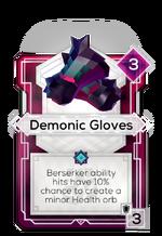 Demonic Gloves
