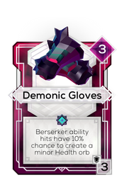 Demonic Gloves