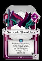Demonic Shoulders