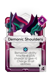 Demonic Shoulders