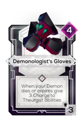 Demonologist's Gloves
