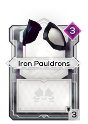 Iron Pauldrons