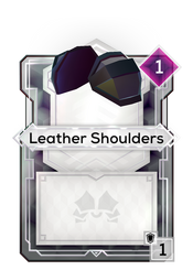 Leather Shoulders