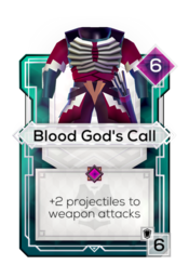 Blood God's Call
