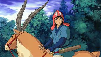 princess mononoke ashitaka and san