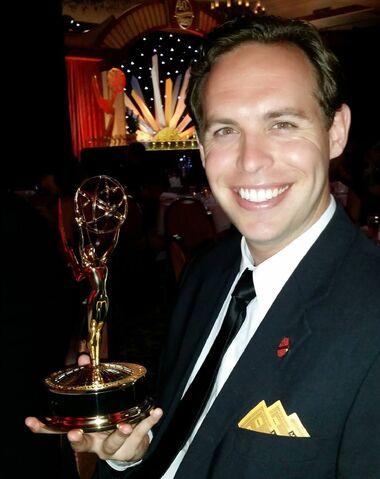 File:Kevin Tostado with Emmy.jpg
