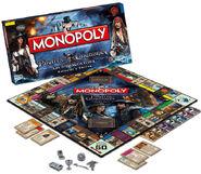 Monopoly Pirates Caribbean Stranger Tides