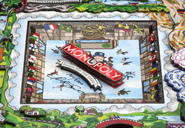 Monopoly Fazzino Ice Rink