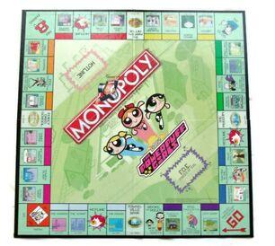 Powerpuff Girls Monopoly Board
