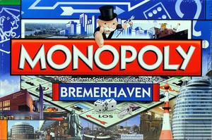 Z monopoly Bremerhaven box