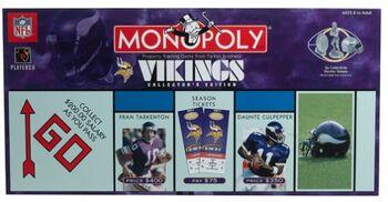 Minnesota Vikings Monopoly