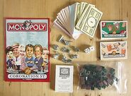 Monopoly coronation street 2000-small box