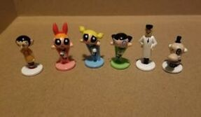 Powerpuff Girls Monopoly Figures