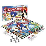 Monopoly Sonic Hedgehog