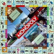 Z monopoly Bremerhaven board