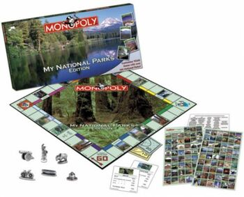 Monopoly My National Parks Edition